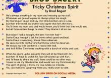 Tricky Christmas Spirit